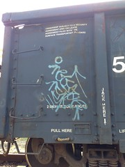 Necs (KingSquab) Tags: train graffiti freight nsf necs necske uploaded:by=flickrmobile flickriosapp:filter=nofilter