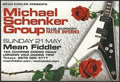 05/21/06 Michael Schenker Group/ Faster Inferno @ Mean Fiddler, London, England (NYCDreamin) Tags: meanfiddler londonengland 052106 michaelschenkergroup fasterinferno