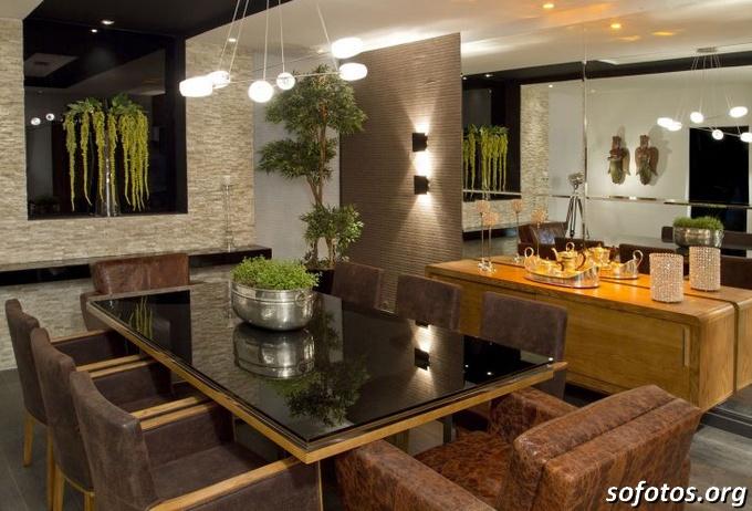 Salas de jantar decoradas (137)