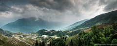 Rice Terraces, Yangshuo, China (awhyu) Tags: china landscape photography rice terrace guilin yangshuo andrew yu pingan
