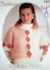 sunbeam_90_ShiftN (Homair) Tags: vintage sweater fuzzy fluffy mohair sunbeam