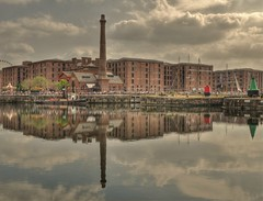 Liverpool Albert Dock And Pump House. (Keo6) Tags: liverpool reflections dock albert