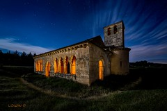 The road to spirituality V (darklogan1) Tags: road longexposure nightphotography lightpainting segovia spirituality romanesque
