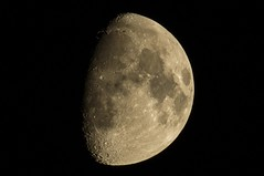 1000mm Moon - Crop (guraydere) Tags: moon astrophotography astronomy 500mm teleconverter 1000mm 3m5ca