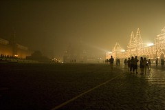 Moscow, 2010 (Pablo Funcia) Tags: red summer square photography russia moscow smoke kremlin 2010