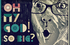 Oh my god! (Lucia ermkov) Tags: face illustration glasses expression lucia cermakova