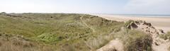 Saunton pano 1 (nigeltriharder) Tags: beach biosphere unesco sands saunton