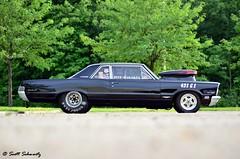 1965 Pontiac GTO (scott597) Tags: street ohio black race drag convention pro pontiac gto dayton 1965 poci 2013 gtoaa