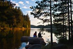 Feel the moment (Tsvetan Banev) Tags: sunset lake lakes bulgaria balkans  rhodope       shirokapoliana