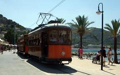 Tram in Soller (ebygomm) Tags: tram mallorca soller 2013