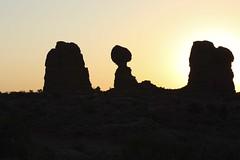 Arches National Park Utah (MRINMAY MALLIK) Tags: southwest sunrise utah arches moab archesnationalpark balancedrock