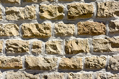 Texturas en pared (Mimadeo) Tags: old wallpaper brick texture rock stone wall architecture construction sand sandstone pattern background surface rough textured blockstructure