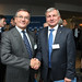 Janusz Lacny, IRU President and Rimantas Sinkevičius, EU Transport Council President and Minister for Transport, Republic of Lithuania