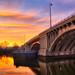 Devon Bridge at Sunset_