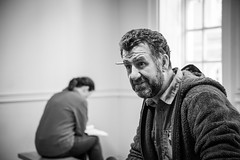 'Hooked!' _ Rehearsals (SteMurray) Tags: approved hooked gillian grattan don wycherly play theatre show irish stage ireland funny performance steve blount tina kelligher senna kerslake central arts waterford viking sheds stesphotos