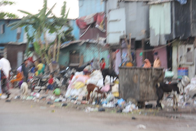 The Dirtiest Garbage Tourist Site Is At Nargis Dutt Slums Bandra Reclamation