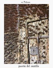 Pedraza (Segovia) (M. Martin Vicente) Tags: puerta castillo pedraza clavos provinciadesegovia