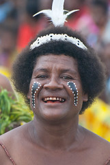 Ware smile 3 (Sven Rudolf Jan) Tags: smile dancing traditional papuanewguinea alotau wareisland canoeandkundufestival