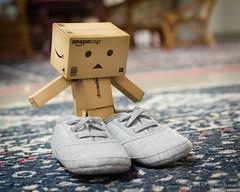 Not my size? (Md Farhan's Gallery) Tags: japan toy kid shoes bokeh danbo revoltech danboard