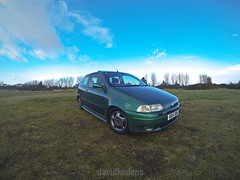 1997 Fiat Punto Sporting 1.2 16v (David Kedens) Tags: cars scotland punto fiat oldschool 1998 sporting photgraphy mk1 gopro puntosporting fiatpuntosporting mk1puntosporting mk1punto