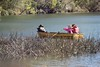 Rowing in the lake (everyday sh⊙_☉ter) Tags: park beach forest sydney waterfalls kookaburra wattamolla garie royalnationalpark audley stanwell hackerriver