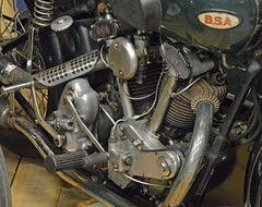 BSA Y13 - 03 (kinsarvik) Tags: motorcycle bsa riom y13 museebaster