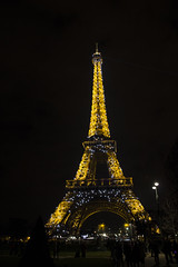 Eiffel Tower by Night (IFM Photographic) Tags: paris france night canon eiffeltower nighttime sp latoureiffel champdemars 75007 tamron 7th f28 7me gustaveeiffel 7e 600d 1750mm ladamedefer 7tharrondisment tamronsp1750mm arondisment img7162a tamronsp1750mmf28diiivc