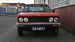 Fiat 128 3P 1300 Berlinetta S (sjoerd.wijsman) Tags: auto red holland rot cars netherlands car rouge fiat den nederland thenetherlands voiture vehicle holanda hatch autos haag rood paysbas olanda hatchback fahrzeug niederlande zuidholland 128 onk carspotting redcars binckhorst fiat128 carspot cwodlp denhaagbinckhorst sidecode3 15022015 28hv77