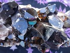 ~03-08-2015 CrYsTaLs #2~ (TravelsThruTheUniverse) Tags: smokeyquartz blackquartz crystalformation