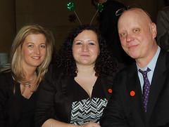 Maura McGee, Leslie Alcock & Tom Ivory