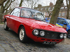 1968 LANCIA FULVIA RALLYE COUPE (shagracer) Tags: wjd27g lancia fulvia rallye coupe italian sports saloon vehicle automobile car queen square bristol classic meet adc breakfast club avenue drivers