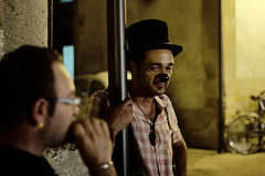 clown triste (koan57) Tags: la clown chiesa buskerfest 2015 uggia