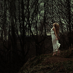 away (Sophie Barlow) Tags: white art girl forest photoshop fire photography flying jumping model woods exposure dress purple fineart fine floating running multipleexposure multiple conceptual conceptualart inspiredby alevel alevelphotography photographyfineart brookeshaden conceptualfineart