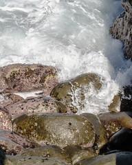 San Diego - Day 2 (La Jolla Cove Beach) (MorboKat) Tags: ocean california nature water rock rocks waves pacific sandiego wave lajolla pacificocean