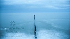 Simple  Silence of the Sea  - Aberdeen Beach - Scottish Coast (Magdalen Green Photography) Tags: longexposure scotland scottish simple coolblue granitecity 7745 aberdeenbeach scottishcoast silenceofthesea magdalengreenphotography