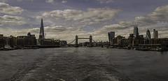 Thames Skyline (Tim Glidden) Tags: city sky building london water thames skyline architecture clouds towerbridge river nikon cityscape shard gherkin nikond5100