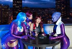 DSC_0637 (N8Zim) Tags: cosplay seatte asari masseffect azures afterlifeclub eccc2015