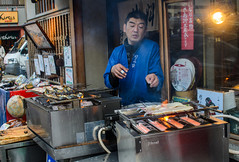 DSC_5875 (houseworld) Tags: japan kyoto grill eels