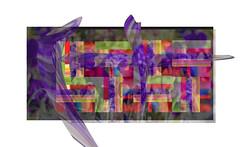 Iris Quilt-Original (Karen McQuilkin) Tags: flowers iris art geometric design quilt karenmcquilkin
