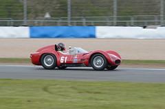 DSC_8761 - Maserati T61 Birdcage (102er) Tags: auto uk classic cars car festival race racecar nikon racing historic tamron motorracing motorsport donington 70300 doningtonpark hscc d7000