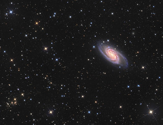 NGC 2903 a barred spiral galaxy in Leo
