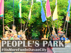 People's Park - Sculptures of People (itsmorefunindavaocity) Tags: park tourism asia philippines sculptures davao mindanao davaocity davaodelsur itsmorefunindavaocity