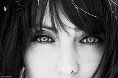 Elisabetta - Shooting (greta.ferrari - ombre a colori) Tags: monocromo persone occhi ritratto disegno viso biancoenero interni capelli sfondo surreale ritrattodidonna nikond5100