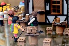 La taberna - The tavern (Eva Ceprin) Tags: toy toys medieval tavern montblanc juguetes playmobil juguete maqueta taberna clicks montblanch nikond3100 tamron18270mmf3563diiivcpzd evaceprin medievalfairmontblanc feriamedievaldemontblanc
