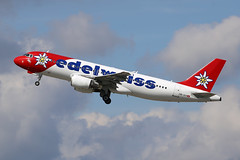 Edelweiss Air Airbus A320-214 HB-IHX (M. Oertle) Tags: airplane airport aircraft air airplanes aeroplane airline planes airbus airways airlines airliner a320 320 aviones avions flugzeuge 飛機 airbusa320 aviões a320200 a320232 hbihx aeroplani a320214 edelweissair kambui เครื่องบิน