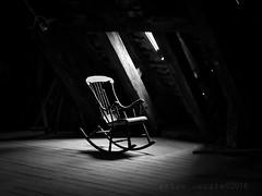 old rocker (SkyeBaggie) Tags: tower abandoned architecture copenhagen denmark chair atmosphere panasonic rocker round kobenhavn rundetaarn antonrandlephotography