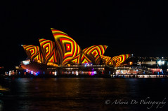 Vivid Sydney 2016 (Asteria D.) Tags: our light house green art festival back rainbow opera colours year sydney culture vivid 9 australia number installation future root claim aboriginals 2016