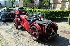 1932 MG F2 Magna (Davydutchy) Tags: auto classic car automobile ride rally may convertible mg bil oldtimer frise f2 cabrio friesland cabriolet bolsward 2016 klassiker klassiek frysln elfstedentocht frisia vetern automobiel boalsert