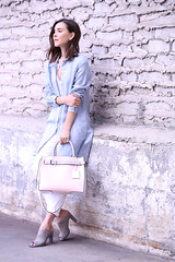 PinkReed4a (InSpadesBlog) Tags: fashion style blogger kennethcole frenchconnection ootd whitedenim croppedjeans reedkrakoff