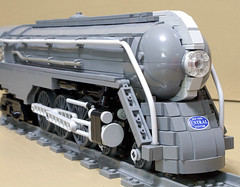Dreyfuss_Hudson_12 (SavaTheAggie) Tags: lego steam engine locomotive hudson 464 henry dreyfuss new york central system nyc railroad train trains streamlined streamliner j3a